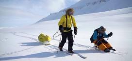 Polárník na vozíku se dostal až k jižnímu pólu