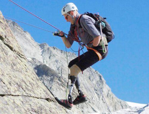 Jamie Andrew: horolezec, který své ruce a nohy nechce zpět