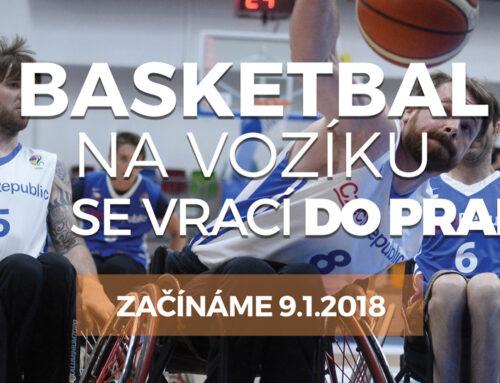 Basket na vozíku opět v Praze!