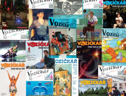 Časopis Vozíčkář končí. Po třiceti letech.