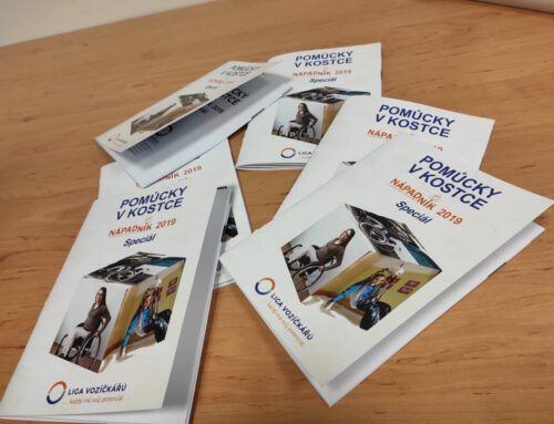 Naše publikace Pomůcky v kostce je k dispozici